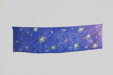Starry Night - tzniut headscarf
