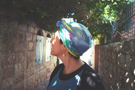 Under the sea - headscarf
