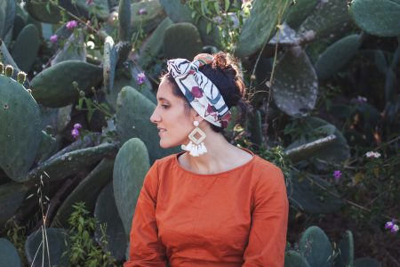 Savannah zebra - headscarf