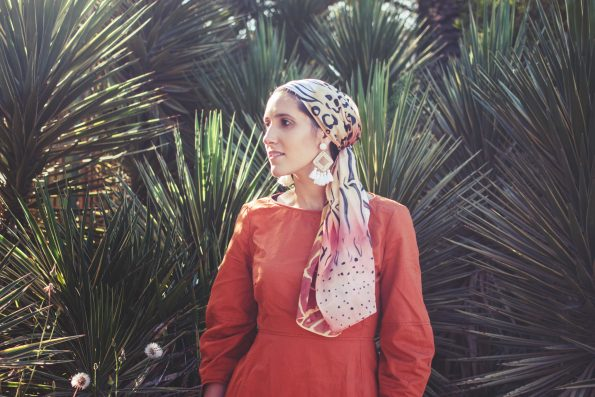 Animals savannah – headscarf