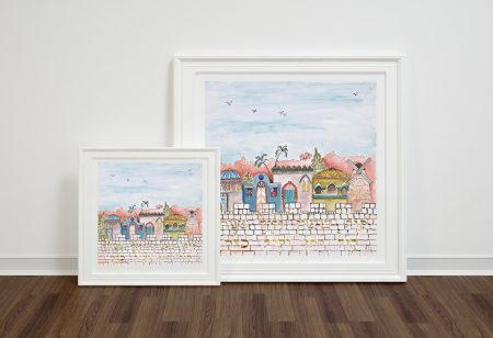 Judaica fine art print