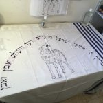 Custom painted tallit