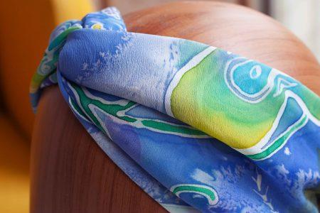 Ocean turban headband israel